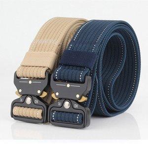 2020 New hot men's tactical belt military nylon belt men's outdoor multi-functional training belt high quality men belts