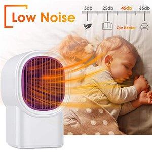 Electric Heater 500W Portable Mini Desktop Warme Heater Fan Winter Warm For Car Home Office Ceramic Fast Heat Handy Super Quiet