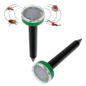 태양 광 발전 친화적 인 초음파 해충 방지 정원 repeller 제어 마우스 쥐 뱀 비행 모기 repeller