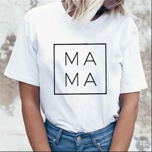 Mama Square Women tshirt Cotton Casual Funny t shirt For Lady Yong Girl Top Tee 6 Color Drop Ship S 807