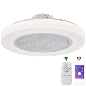 Ceiling Fans Modern Fan With Lighting Dimmable Bedroom Decorative Lamp Led Remote Control Living Room Corridor Balcony