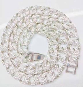 Necklace for men and women trendy Diamond Fashion versatile boutique popular hip hop two colors can be choice Chenachen