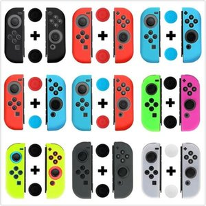 New Silicone Case for Nintendo Switch Joy-Con Design for Nintendo Switch Joy-Con controller Free Shipping DHL