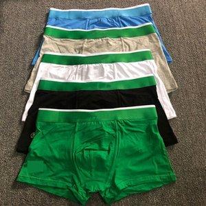 RTHIKA Erkek Boksörler Külot Pamuklu Iç Çamaşırı Timsah Tasarımcısı Markalar Külot Seksi Klasik Boxer Rahat Şort Iç Çamaşırı Nefes 3 ADET ile Kutusu Üst Satış
