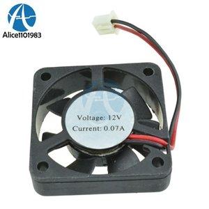 Integrated Circuits 2Pcs Lot Black 2 Pin 12V 40mm X 10mm 4010 Brushless DC Fan PC Cooling Cooler