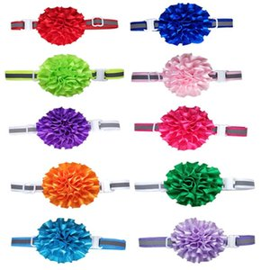 Dog Apparel 60pcs Reflective Pet Bow Ties Flower Ball Cat Necktie Ribbon Bowtie Collar Accessories Grooming Supplies