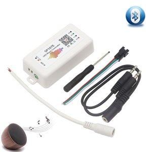WIFI Bluetooth SP107E Pixel IC SPI Music Controller por teléfono Aplicación para WS2812 SK6812 SK9822 RGBW APA102 LPD8806 Strip DC5-24V
