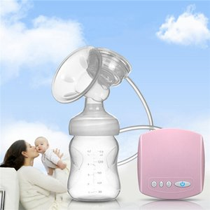 Intelligent Automatic USB Electric Breast Pumps BPA free Nipple Suction Milk Pump Breast Feeding Breast Pump Christmas Gift 210226