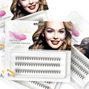 Individual Cluster False Eyelashes Natural Soft Fluffy Fake Lashes Handmade DIY Eyelash Extension Professional Grafting Makeup Tool