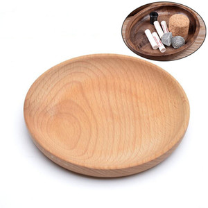 New Portable Natural Wooden Dry Herb Tobacco Preroll Rolling Roller Cigarette Smoking Grinder Tray Display Plate High Quality Container DHL
