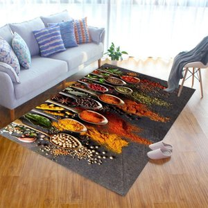 Carpets Spice Pattern Livingroom Carpet Bedroom Bedside Decor Kids Room Hallway Large Rug Outdoor Fluffy