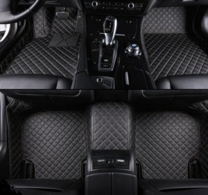 Custom 5 Ass Sour Floor Mats para VW Passat B5 B6 B7 B8 New Beetle Multivan