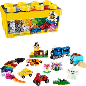 Classic Medium Creative Brick Box 10696 Building Toys for Creative Play Kids Creative Kit (484 Pieces)