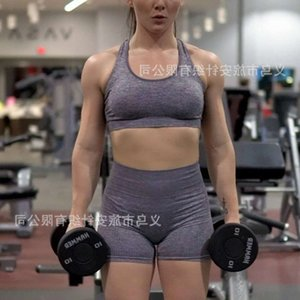 Tight skirt women's High Waist Shorts Fitness sports bra underwear Yoga tights Set Designer