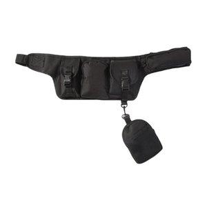 الخصر حقيبة الرجال النساء أزياء فاني حزمة الهيب هوب نمط قابل للتعديل الصيد للماء المحمولة الحقيبة الرياضة الخصر الحقيبة