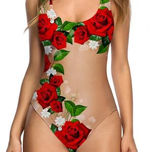 Yeni Seksi Çok Kavun Meyve Kabuk Renk kadın Tek Parça Bikini Mayo
