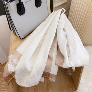 21ss fashion designer shawl scarf high quality women's winter wool scarf warm 180cm*65cm
