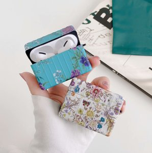 Designer AirPods Case Fashion New Retro Printing Letter Pattern Suitable for AirPods1 2 Pro3 Bluetooth Headset Case