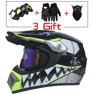 New Style Motorcycle Racing Helmet Off-road Full Face Motorcycle Helmet Dirt Bike Atv Downhill Mountain Casco Moto