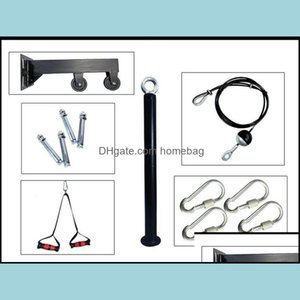 Integrated Equipments Supplies Sports & Outdoorsintegrated Fitness Equip Home Gym Hine Wall Mounted Workout Arm Biceps Triceps Blaster Pley