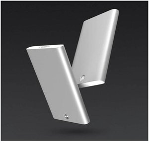 Bycobecy New Business Card Case Metal Stainless Steel Business Card Holder Creative Office Aluminum Men's Purse Card Cli jllaNN