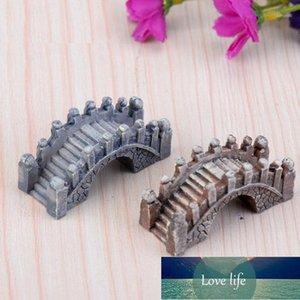 Artificial Vintage Bridge Mini Craft Miniature Fairy Garden Home Decoration Houses Micro Landscaping Decor DIY Accessories1