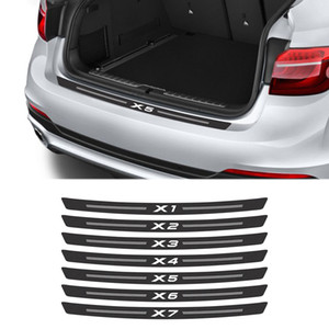 Carbon Fiber Car Trunk Decals Decal For BMW X5 E53 E70 E83 F15 G05 X1 F48 X3 F25 X6 E71 X2 F39 X4 F26 X7 G07 Car Accessories