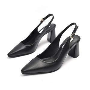 Women Shoes Female Heel Sandals Pumps PU Mules Sling Back 2021