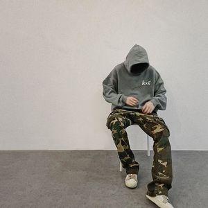 Cpfmkanye Kanye children see ghost kendou's same fashion brand fog high street loose sweater, Hoodie and coatYLR