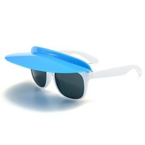 2021 Apulon Promotional Sombrero de verano Gafas de sol Gafas de sol con capucha
