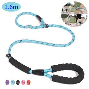 Dog Leash Strong Reflective Lead Rope For Medium Large Dog Running Walk Train Pitbull Bulldog Pugs Beagle Labrador Husky w-00713