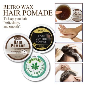 Sevich Men Women Styling Hair Wax Clay Gel Strong Hold styles Finished Molding Cream Pomades Makeup