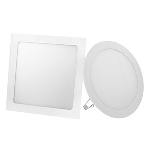 LED Panel Light 6W 9W 12W 15W 18W Round Square LED Spot light AC85~265V ceiling light Indoor Recessed Downlight