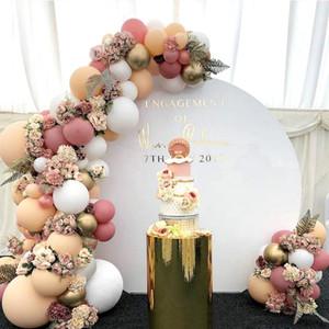 المعدنية الرجعية بالون الزفاف بالون الزفاف جارلاند القوس بالون للعروس يكون الزفاف حزب الزواج حفل زفاف baloon globos