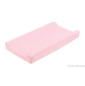 Minky Dot Cambiando almohadillas Cubiertas Cambiar Pad Cover Chica Boy Baby Tabla Cubierta Bebé Regalo Cambio Mat Kids Nursery EWC6378