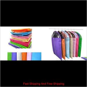 Mix Color New Clothes Dress Garment Suit Cover Bag Dustproof Jacket Skirt Storage Protector Color Ran qyleJH wrhome