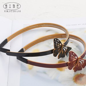Alexandria, France with butterfly series hairpin, twig hairband, female headband, curling headdress