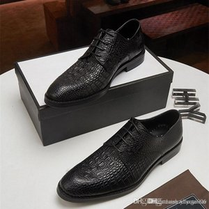 Designers Leather designers Luxurys Dress Shoes for Men Casual Oxfords Male Business Formal Footwear Homme Flats Plus Size Wedding Party