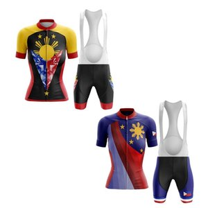 Racing Sets Classic Philippines Women's Cycling Jersey Set Summer Pro Team MTB Road Bicycle Sport Wear Bike Clothing
