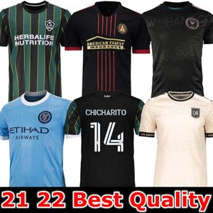 MLS 21 22 Los Angeles La Lafc Galaxie Inter Miami Fussball Jerseys 2021 2022 Atlanta United New York City FC Higuain Football Hemden