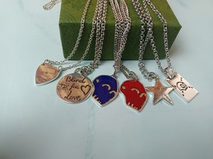 Дизайнер Высокое Качество Модные Кулон Ожерелье Романтические Украшения Ювелирные Изделия Изысканные Свадебные подарки для женщин и мужчин