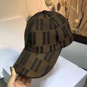 2021 chapeaux de coton classiques chapeaux de broderie pour hommes Snapbacks de mode Casquette de baseball Femmes Visière Gorras Bone Casquette Loisirs Casual Casual Hat