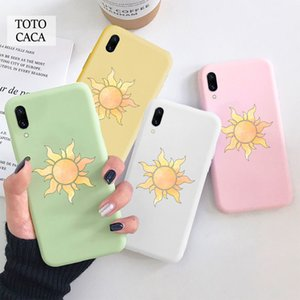 Tangled Sun Soft phone case for iphone 11 Pro Max X XS XR 6S 7 8 plus Cute cover fpr iphone SE 2020 coque