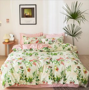 Newest Bedding Sets Cotton Queen Size Beautiful Adult Quilt Cover Sets Pillow Cases Bedding Sheet Duvet Cover Comforter Cover