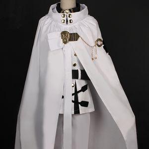 Anime Seraph of the End Owari No Seraph Mikaela Hyakuya Uniformes Disfraz de cosplay con peluca Full Set CX200817