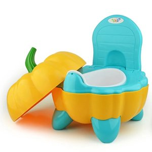 Top Seller Pumpkin Style Designer Toilet Seat for Children with High Quality Children's Training Device 3 Colors