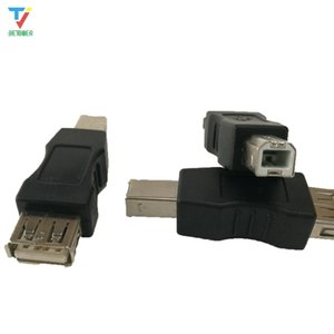 wholesales 500pcs lot USB 2.0 Type A Female TO Type B Male Adapter Converter For Printer phone PC etc