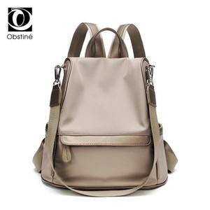 Çok fonksiyonlu sırt çantası kadın anti hırsızlık su geçirmez arka paketi kadın antitheft sırt çantaları kızlar için oxford bagpack kadın çantası