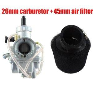 Dirt Pit Bike 150cc 160cc Carburetor Molkt 26mm Carb + 45mm Filtro de Ar KLX JCL Atomik