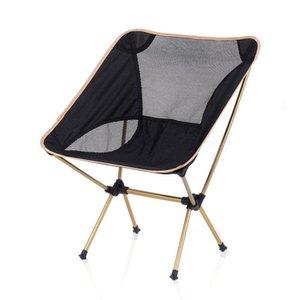 Cadeira de dobramento portátil ao ar livre Lightweight confortável acampar piquenique cadeiras dobrável montado pequeno cadeira de praia simples
